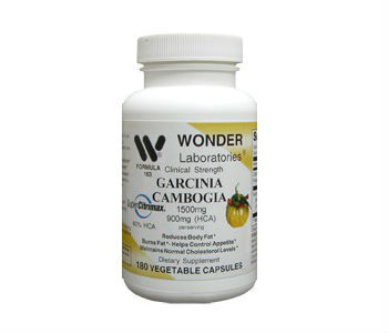 Wonder Laboratories Garcinia Cambogia Weight Loss Supplement Review