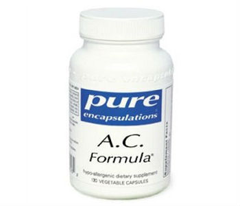 Pure Encapsulations A.C. Formula II Review - For Relief From Yeast Infections