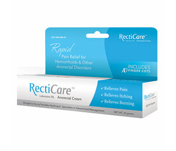 Recticare Anorectal Cream Review - For Relief From Hemorrhoids