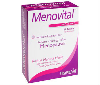 Health Aid MenoVital Review - For Relief From Symptoms Associated With Menopause