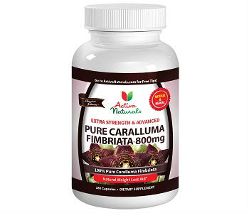 Activa Naturals Caralluma Fimbriata Weight Loss Supplement Review