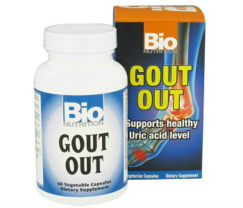 Bio Nutrition Gout Out Review - For Relief From Gout