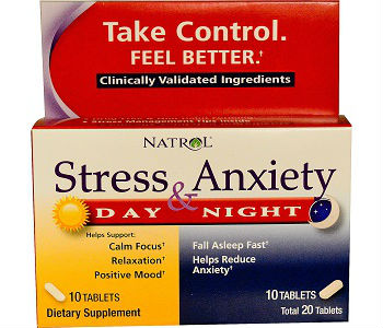 Natrol Stress & Anxiety Review - For Relief From Anxiety And Tension