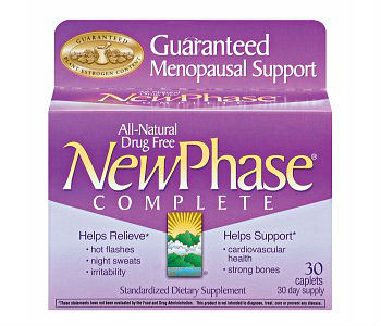 New Phase Complete Menopause Support Review - For Relief From Symptoms Associated With Menopause