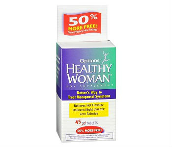 Options Healthy Woman Soy Menopause Review - For Relief From Symptoms Associated With Menopause