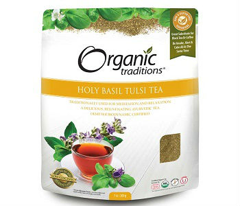 Organic Traditions Holy Basil Tulsi Tea Review - For Improved Overall Health