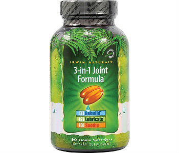 Irwin Naturals 3-in-1 Joint Formula Review - For Healthier and Stronger Joints