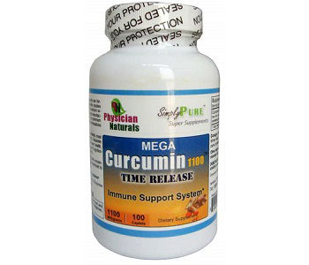 Mega Curcumin 1100 Time Release Physician Naturals Review - For Improved Overall Health