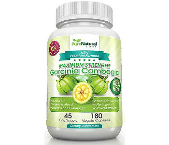 Pure Natural Labs Maximum Strength Garcinia Cambogia Weight Loss Supplement Review