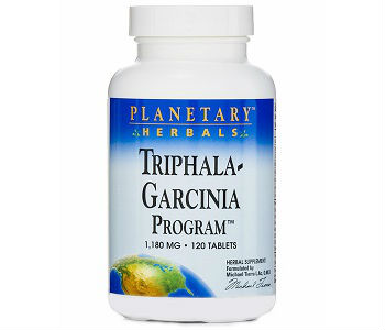 Planetary Herbals Triphala-Garcinia Program Weight Loss Supplement Review