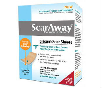 ScarAway Silicone Scar Sheets Review - For Reducing The Appearance Of Scars