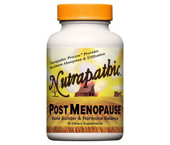 Nutrapathic Post-Menopause Review - For Relief From Symptoms Associated With Menopause