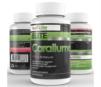 NutriElite Health Products Elite Caralluma Weight Loss Supplement Review
