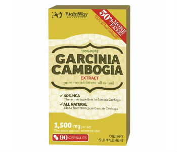 Rightway Nutrition Garcinia Cambogia Extract Weight Loss Supplement Review