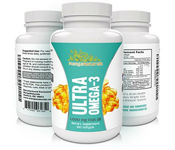 MangaNaturals Ultra Omega-3 Review - For Cognitive And Cardiovascular Support