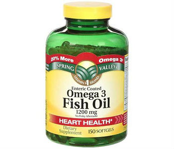 Spring Valley Omega-3 Fish Oil Review - For Cognitive And Cardiovascular Support