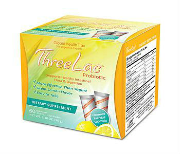 Global Health Trax Threelac Review - For Relief From Yeast Infections