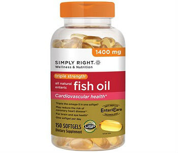 Triple Strength Fish Oil Simply Right Review - For Cognitive And Cardiovascular Support