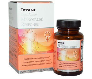 Menopause Response Twinlab Review - For Relief From Symptoms Associated With Menopause