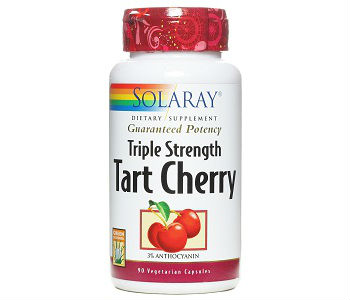 Solaray Triple Strength Tart Cherry Review - For Relief From Gout