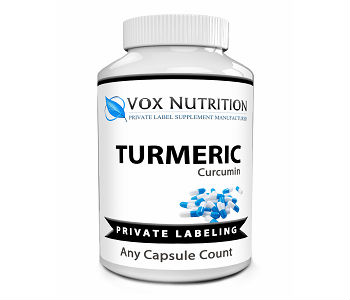 VOX Nutrition Private Label Turmeric Review - For Improved Overall Health