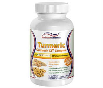 Turmeric C3 Complex New Horizon Supplements Review - For Improved Overall Health