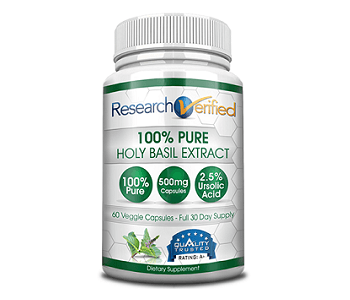 Research Verified Holy Basil Review - For Improved Overall Health