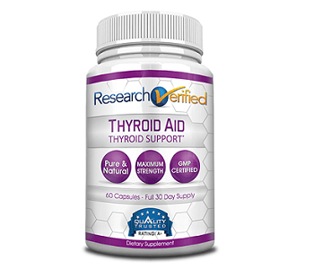 Research Verified Thyroid Aid Review - For Increased Thyroid Support