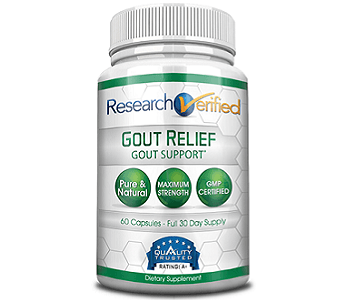 Research Verified Gout Relief Review - For Relief From Gout
