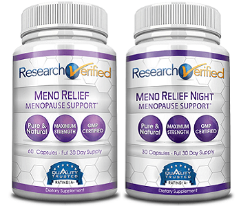 Research Verified MenoRelief Review - For Relief From Symptoms Associated With Menopause