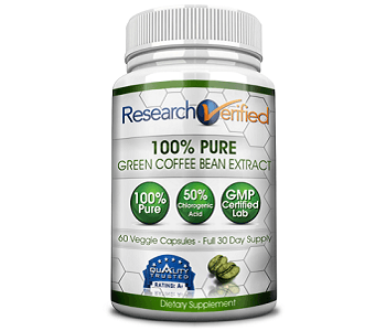 Research Verified Green Coffee Weight Loss Supplement Review