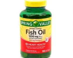 Spring Valley Fish Oil Dietary Supplement Review