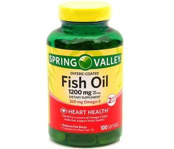 Spring Valley Fish Oil Review - For Cognitive And Cardiovascular Support