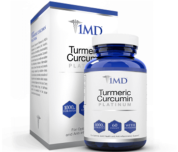 1MD Turmeric Curcumin Platinum Review - For Improved Overall Health