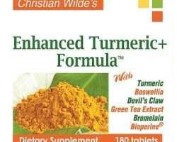 Christian Wilde Enhanced Turmeric Formula Review