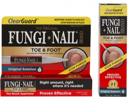 Clear Guard Fungi-Nail Toe and Foot Anti-Fungal Solution Review