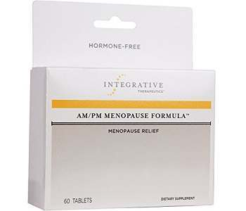 Integrative Therapeutics AM/PM Menopause Formula Review - For Symptoms Associated With Menopause