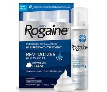 Men's Rogaine Hair Regrowth Treatment Review - For Hair Growth