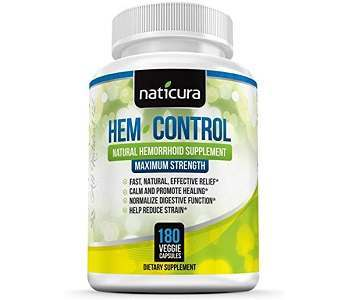 Naticura Hem-Control Review - For Relief From Hemorrhoids