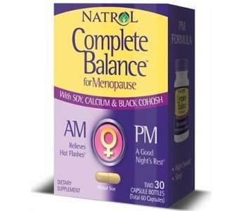Natrol Complete Balance Review - For Relief From Symptoms Associated With Menopause