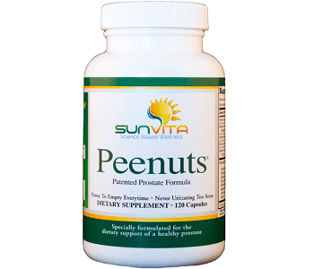 Sunvita Peenuts Review - For Increased Prostate Support