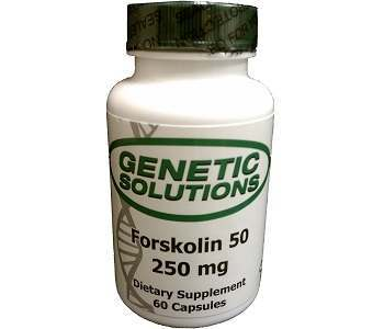 Genetic Solutions Forskolin 50 Weight Loss Supplement Review