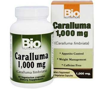 Bio Nutrition Caralluma Fimbriata Weight Loss Supplement Review