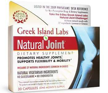 Greek Island Labs Natural Joint Review - For Healthier and Stronger Joints