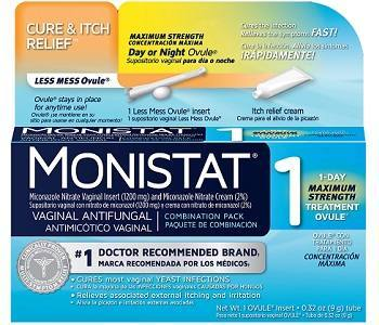 Monistat 1 Complete Therapy Vaginal Antifungal Review - For Relief From Yeast Infections
