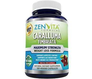 ZenVita Formulas Caralluma Fimbriata Weigt Loss Supplement Review