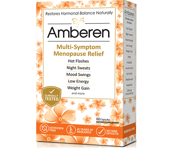 Amberen Review - For Relief From Symptoms Associated With Menopause