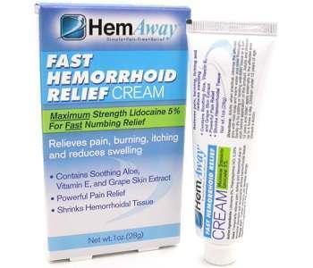 HemAway Hemorrhoid Relief Cream Review