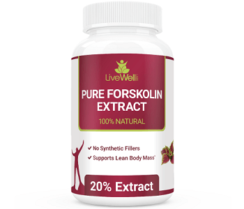 LiveWell Pure Forskolin Extract Weight Loss Supplement Review