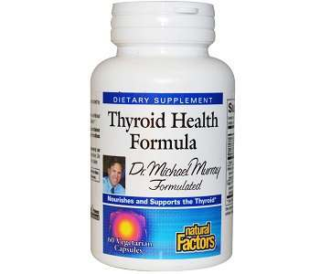 Natural Factors Thyroid Health Formula Review - For Increased Thyroid Support